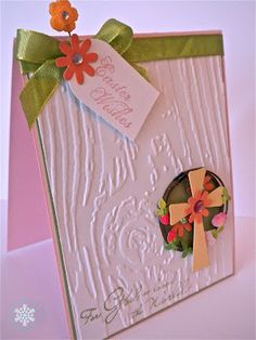 """""""Easter Wishes"""" card for CQC131, by Noelle McAdams"""