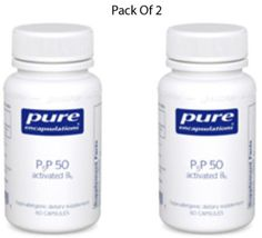 Pure-Encapsulations-P5P50-activated-B-6-60-VegCapsules-2-PACK-Exp-2-18-SD