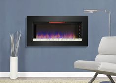 Classic Flame Felicity Wall Mounted Electric Fireplace – Modern Blaze