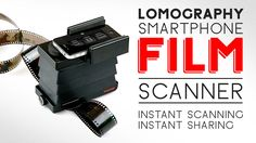 Introducing the Lomography Smartphone Film Scanner. The Lomography Smartphone Film Scanner offers you the perfect way to scan, edit, print a...