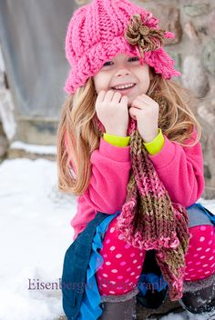 children girl winter photography