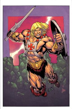 HeMan coloured by waki2