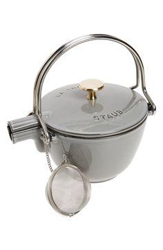 Main Image - Staub 1 Quart Enameled Tea Kettle