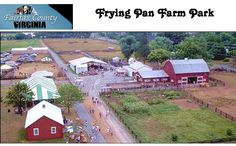Frying Pan Farm Park, Herndon, VA: has a variety of attractions of both a historic and recreational nature. The park contains the Frying Pan Spring Meeting House listed on the National Register of Historic Places dating from the 18th century. And a working demonstration farm. There are many animals including cows, pigs, and horses.