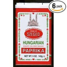 From Hungary, where the spice is a culinary staple, Szeged Sweet Paprika has exquisite flavor. Boneless Beef Short Ribs, Paprika Spice, Hungarian Paprika, Chicken Paprikash, Beef Goulash, Hungarian Recipes, Hungarian Food, National Dish, Family Roots