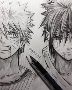 Naruto Uzumaki & Sasuke Uchiha