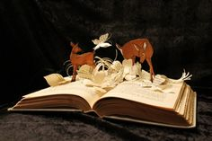 Book Sculptures by Jodi Harvey-Brown. Click for article about her work and links.