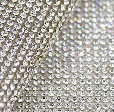 2016 Free Shippment!2mm Clear Glass Rhinestone Beaded Trim Hotfix Or Self Adhesive Strass Applique Banding Diamond Mesh Roll For Diy Decoration From Xinmei2218, $27.14 | Dhgate.Com