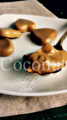Coconut Dulce de Leche Candies and Cream