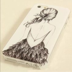 Girl in Dress in iPhone 6 Case NWT Reasonable offers only please   •Bundle any 2 Cases for $13• • Bundle any 3 for $18•                                                         Please Follow :  Instagram: vinyl_by_rachel Pinterest: rachelp2426 Etsy: monogramdecalqueen Accessories Phone Cases