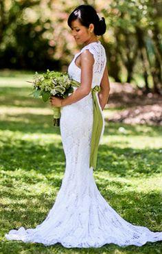 Ihr Hochzeitskleid kostete nur 30 $, doch niemand wird es je vergessen!