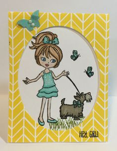 Hey, Girl! Stamp set from Stampin'Up