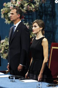 King Felipe, Queen Letizia and Queen Sofia attended the Princess of Asturias awards ceremony at the Campoamor Theatre on October 23, 2015in Oviedo, Spain.