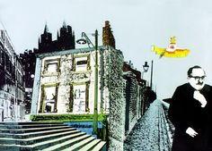 """Liverpool; a scene from the animated film """"Yellow Submarine"""""""