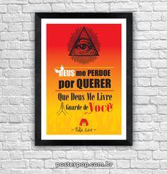 Poster Rita - Deus Me livre Guarde de Você