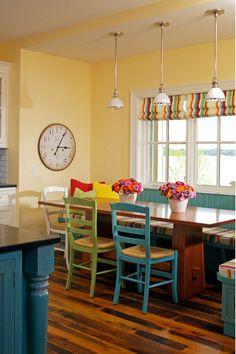 Que cor pintar a cozinha?