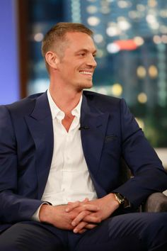 Joel Kinnaman, Swedish American actor and beauty. Had forgotten what a great show 'The Killing' was. Dark and heart wrenching, but so good.