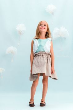 4f76e5754 ALALOSHA  VOGUE ENFANTS  Feel the wind with The Ginger Brownie new SS15  collection Moda