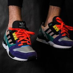 ADIDAS ZX 8000 (DUST PERAL/CORE BLACK) $110 #CORPORATEGOTEM