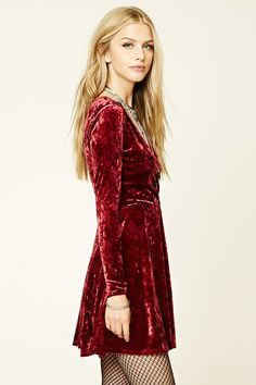 Forever 21 is the authority on fashion & the go-to retailer for the latest trends, must-have styles & the hottest deals. Shop dresses, tops, tees, leggings & more. Bohemian Men, Bohemian Lifestyle, Shop Forever, Forever 21, Velvet Skater Dress, Beautiful Dresses, Beautiful Women, Crushed Velvet, Free Spirit