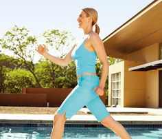 All you need are walking shoes, a set of dumbbells, and 21 days to blast fat and transform your body