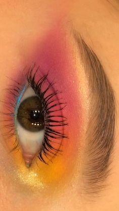 Edgy Makeup, Makeup Eye Looks, Eye Makeup Art, Dramatic Makeup, Eyebrow Makeup, Skin Makeup, Eyeshadow Makeup, Exotic Makeup, Fairy Makeup