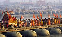 Well, India experience a lot of major festivals throughout the year in its land but Kumbha Mela is the biggest festival amongst all festivals in India. The spiritual Mela is witnessed by more than 5 million people across the world within a period of a month.