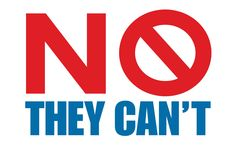 Send a message to the politicians. Make a copy of this sign that reminds them, when they say they can run our lives better than free individuals can, that: NO THEY CAN'T!