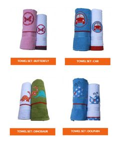 Designer #KidsBath Accessories online at Flyfrogkids - Find Exclusive range of Bath Linens, Bath Robes, Shower Curtains, #BathTowels, Mirrors and many more. Visit http://www.flyfrogkids.com/bath/towels-sets