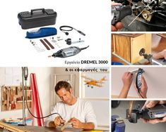 Πολυεργαλείο DREMEL 3000 (3000-2/45)  εάν θέλετε με το δώρο σας να χαρίσετε χαμόγελα Dremel 3000, Vacuums, Home Appliances, House Appliances, Vacuum Cleaners, Appliances