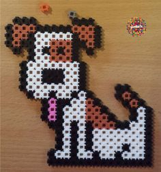 A Simbrix Dog | #Dog #Simbrix #beads #crafts So Little Time, Perler Beads, Passion, Fan, Dogs, How To Make, Pictures, Crafts, Design