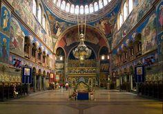 L'intérieur de la Cathédrale Orthodoxe de Sibiu, Roumanie