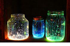 DIY wedding projects mason jars