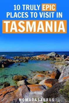 10 Truly Epic Places to Visit in Tasmania Edition, … - Australia (Oceania) Tonga, Visit Australia, Australia Travel, Queensland Australia, Western Australia, Vanuatu, Fiji, Amazing Destinations, Travel Destinations