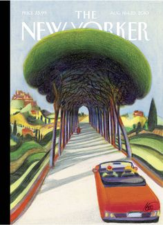 """Cover Story: Lorenzo Mattotti's """"Natural Frame"""" - The New Yorker"""