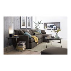 lounge sofa // crate and barrel My favorite couch!!! Soon you will be mine!!!