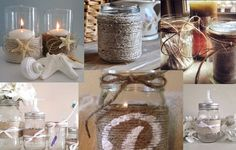 How to Add Interesting Texture To Your Storage Containers With String