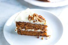 Moist Carrot Cake with Coconut Oil