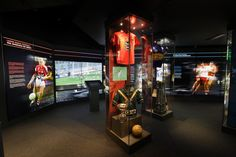 Ladies football features in the Exhibition Gallery at Dublin's GAA Museum.