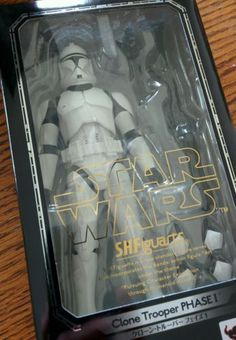 Star Wars 49212: S.H. Figuarts Bandai Star Wars Clone Trooper Phase 1 -> BUY IT NOW ONLY: $45 on eBay!
