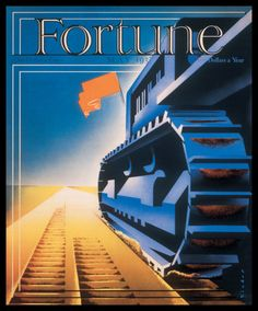 Fortune, May 1938:   Illustration: Joseph Binder, art director: Eleanor Treacy