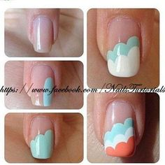 Nail Tutorials | via Facebook | We Heart It
