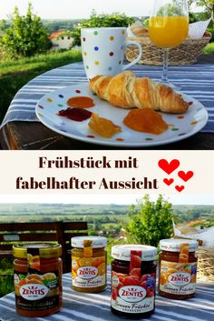 Leckeres Frühstück im schönen Rheinhessen! Natur und Genuss pur.