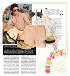 """Gianluca Ginoble || Biking in Santa Monica, LA || Gianluca's Style"" by ilvolosuitandtie ❤ liked on Polyvore featuring moda, MSGM, Vero Moda, Ray-Ban, San Diego Hat Co., Cole Haan, women's clothing, women's fashion, women e female"