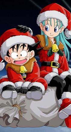 ドラゴンボールのクリスマス iPhone壁紙 Wallpaper Backgrounds iPhone6/6S and Plus Dragon Ball Christmas