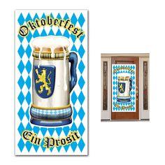 Oktoberfest Door Cover 30'' x 5' (12ct)