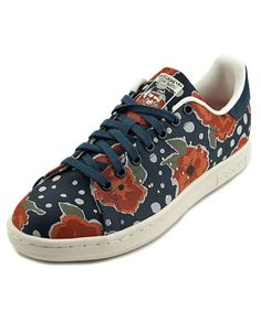 the latest 00b69 3f0f3 Adidas Adidas Stan Smith W Women Round Toe Canvas Sneakers Zapatos,  Zapatillas De Lona,