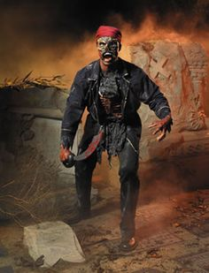 When you dress up in our scary Lord Highseas Pirate Zombie Costume you will be able to make any partygoer who steps out of line walk the plank. Pirate Cosplay, Pirate Halloween Costumes, Evil Dead, Pirate Day, Horror Makeup, Black Sails, The Brethren, Pirates Of The Caribbean, Zombie Apocalypse