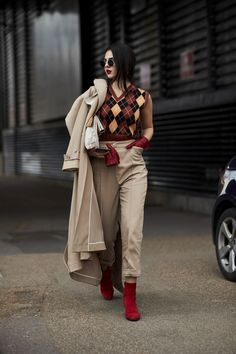 London Fashion Week Street Style Fall 2018