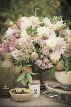 blush and lavender lovely reception wedding flowers,  wedding decor, wedding flower centerpiece, wedding flower arrangement, add pic source on comment and we will update it. www.myfloweraffair.com can create this beautiful wedding flower look.